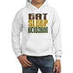Eat Sleep Kickboxing Hooded Sweatshirt
