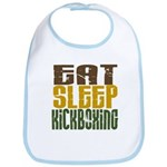 Eat Sleep Kickboxing Bib