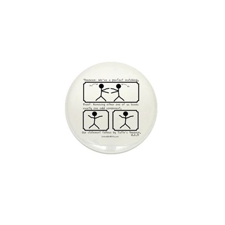 Perfect Matching - Mini Button (10 pack)