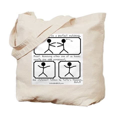 Perfect Matching - Tote Bag