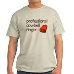 """""""Cowbell Ringer"""" Light T-Shirt"""