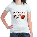 """""""Cowbell Ringer"""" Jr. Ringer T-Shirt"""