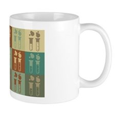 Chemical Engineering Pop Art Mug