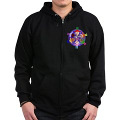 World Peace Zip Hoodie (dark)