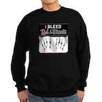 Bleed Red & Black Sweatshirt (dark)