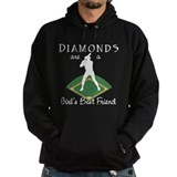Diamonds - Girl's Best Friend Hoody