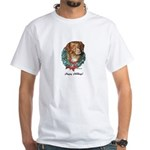 Toller Christmas White T-Shirt