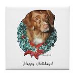 Toller Christmas Tile Coaster
