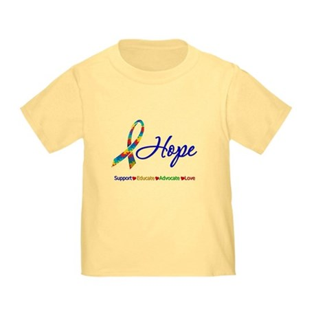 Hope Autism Toddler T-Shirt
