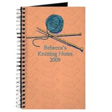 Rebecca's Knitting Notes 2009 Journal