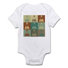 Biology Pop Art Infant Bodysuit