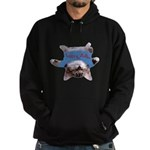 Yoga Kitty Cat Hoodie (dark)