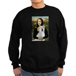 MonaLisa-AKita2 Sweatshirt (dark)