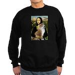 Mona / Akita (br&w) Sweatshirt (dark)