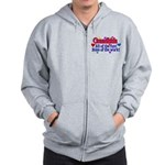Grandkids - All the fun! Zip Hoodie
