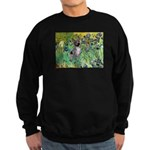 Irises-Am.Hairless T Sweatshirt (dark)