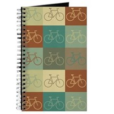 Bicycling Pop Art Journal