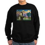St Francis/Beagle Sweatshirt (dark)