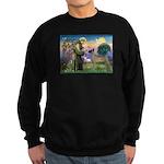 Saint Francis' Great Dane Sweatshirt (dark)