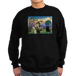 St Francis / Schipperke Sweatshirt (dark)