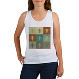 Bees Pop Art Women's Tank Top