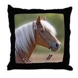 Haflinger Horse Throw Pillow