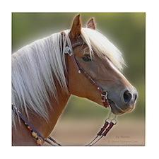 Haflinger Horse Tile Coaster