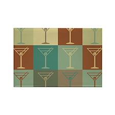 Bartending Pop Art Rectangle Magnet (100 pack)