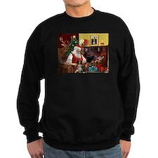 Santa's Aussie (RW4) Sweatshirt