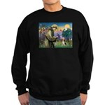 Saint Francis / Beagle Sweatshirt (dark)