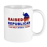 Raised Republican Small Mug