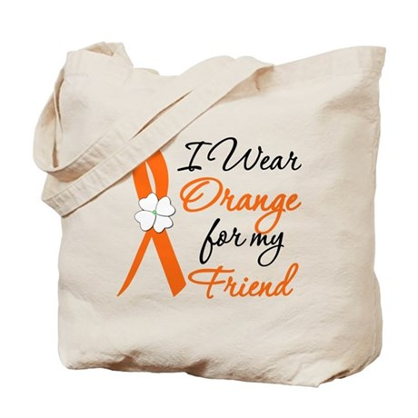I Wear Orange For My Friend Tote Bag