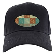 Badminton Pop Art Baseball Hat
