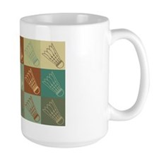 Badminton Pop Art Coffee Mug