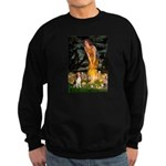 Fairies and Beagle Sweatshirt (dark)