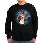 Starry Night Beagle #1 Sweatshirt (dark)