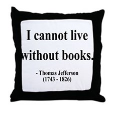 Thomas Jefferson 27 Throw Pillow
