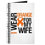 I Wear Orange For My Wife Journal