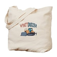 Wyattdozer the Bulldozer Tote Bag