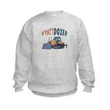 Wyattdozer the Bulldozer Sweatshirt
