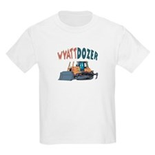 Wyattdozer the Bulldozer T-Shirt