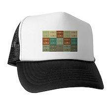 Backgammon Pop Art Trucker Hat