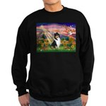 Autumn Angel/Collie Sweatshirt (dark)
