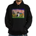 Autumn Angel/Collie Hoodie (dark)