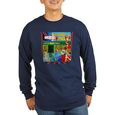 """Gottlieb® """"Cross Town"""" Long Sleeve Dark T-Shir"""