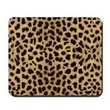 Leopard Print Mousepad