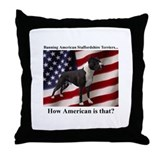 Banning ASTs Throw Pillow