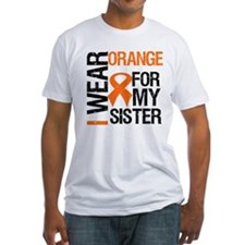 I Wear Orange For My Sister Shirt