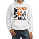 I Wear Orange Niece Hoodie