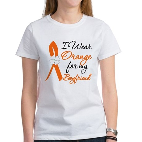 I Wear Orange For My Boy Friend Women's T-Shirt
